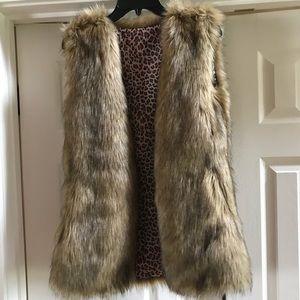 Faux Fur boutique vest